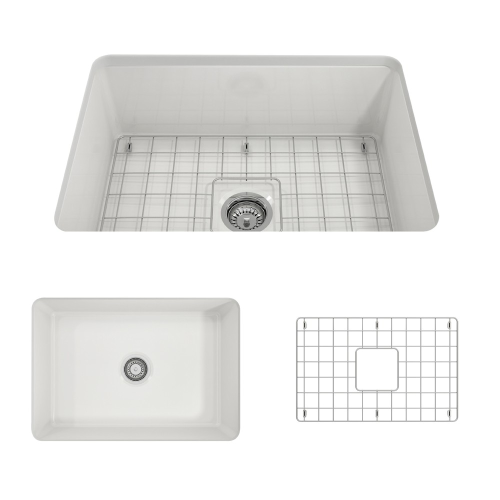 https www kbauthority com bocchi 1360 0120 sotto 27 inch undermount fireclay single bowl kitchen sink html