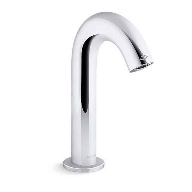 kohler k 104b77 sana cp oblo faucet with kinesis sensor and mixer dc powered