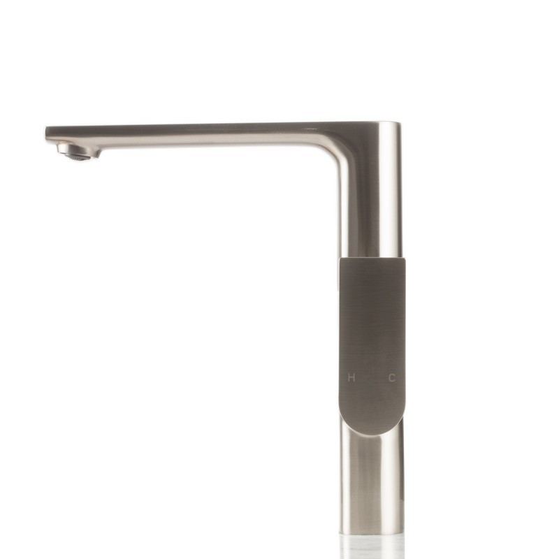 strictly kf1300bn modern swivel kitchen and bar faucet in brushed nickel