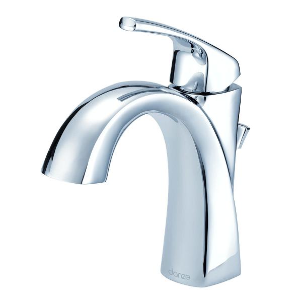 danze d225018 vaughn single handle lavatory faucet single hole mount with metal pop up drain 1 2 gpm
