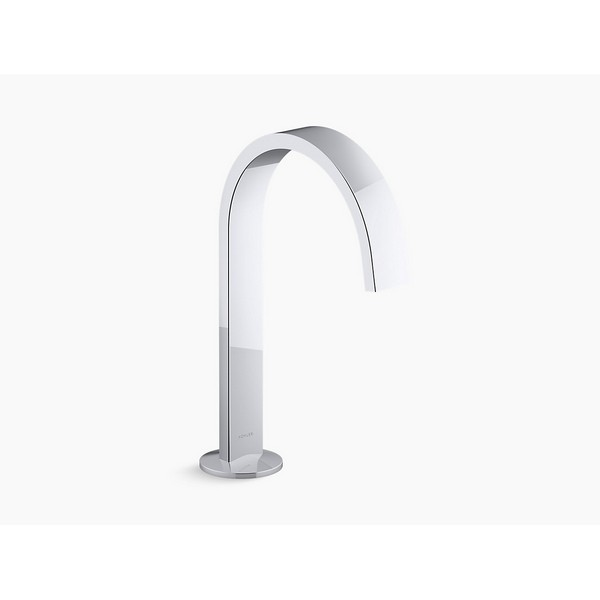 kohler k 77968 components 1 2 gpm ribbon spout bathroom faucet with pop up drain assembly less handles