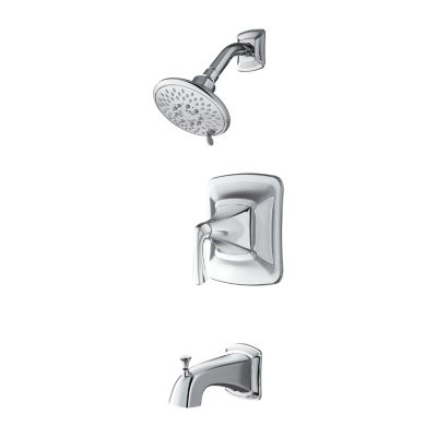 pfister 8p8 ws2 sls selia wall mount tub and shower faucet with lever handle