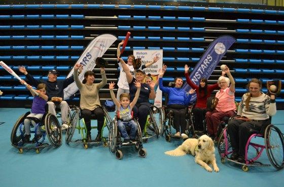 First Wheelchair Baseball Clinics for To Walk Again