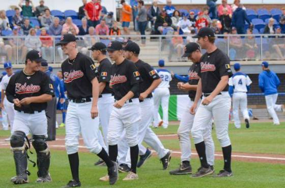 Five Junior Belgium Baseball Players in selection of Team Europe