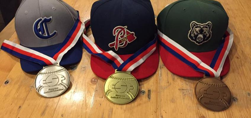 Flemish Men Softball Teams won European Gold, Silver and Bronze this weekend!