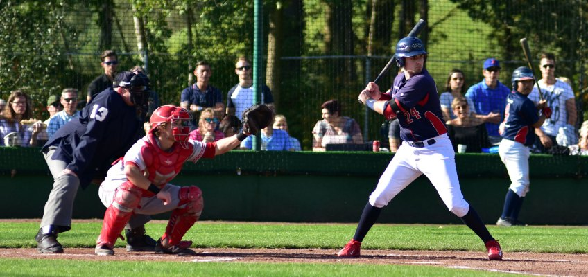 European Top Baseball at Brasschaat in Federations Cup, 11-16 June 2018
