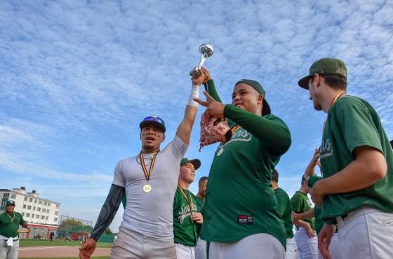Deurne Spartans win the Belgian Series Baseball 2018