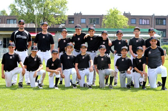 Belgian U12 National Baseball Team ready to GO