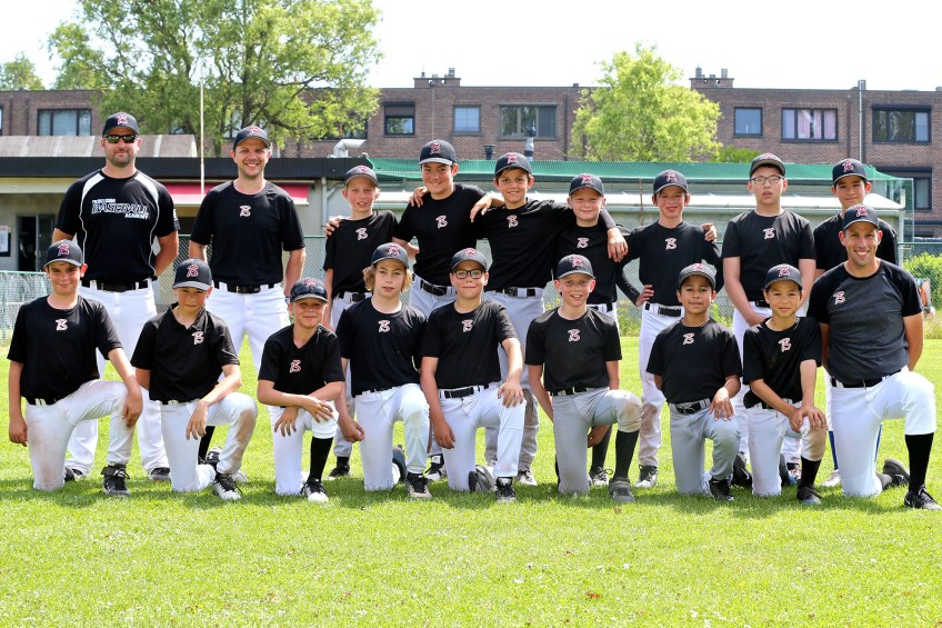 Belgian U12 National Baseball Team ready to GO