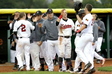 Belgium already certain of a place in the semifinals E.C. Baseball U23