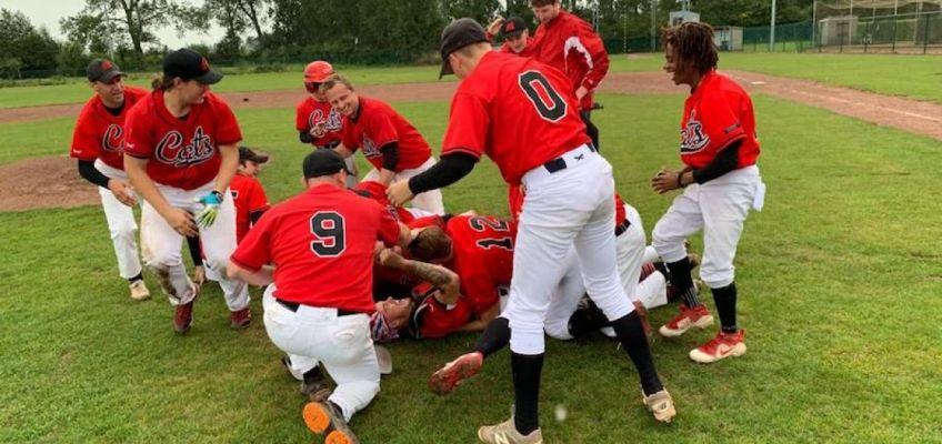 Merchtem Cats are Baseball Division 1 Winner 2019