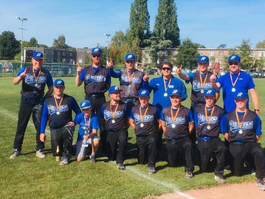 Pioneers win Belgian Series Softball Men 2019