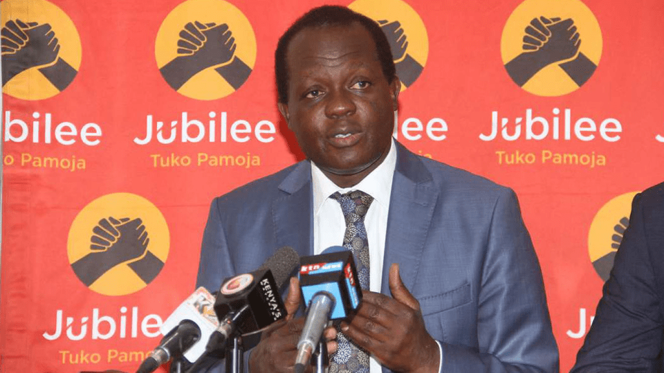 Confusion as Jubilee bows out of Msambweni by-election race