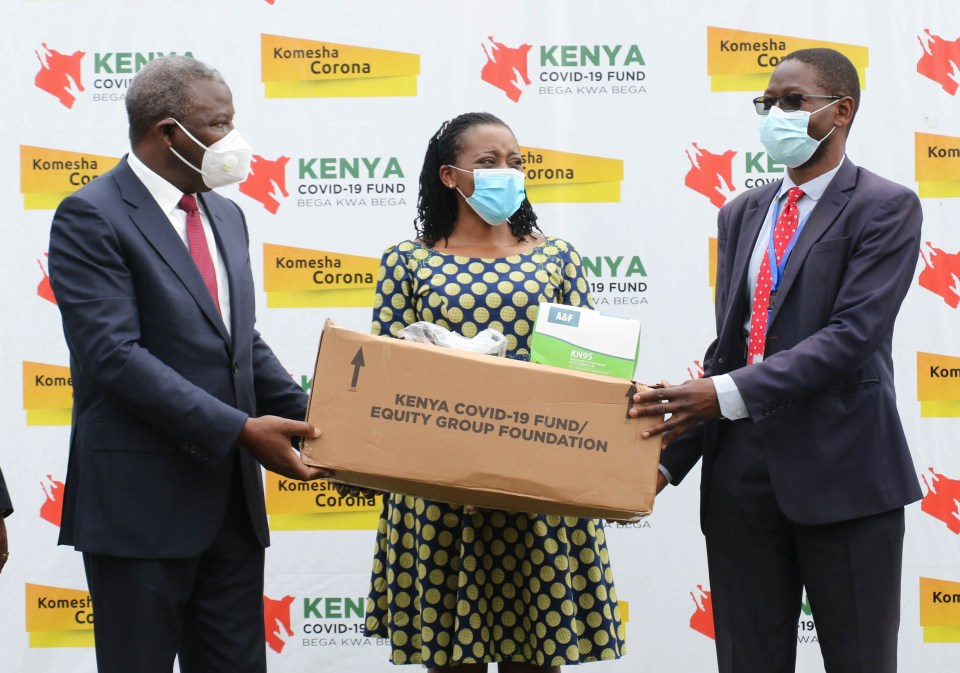 PPEs worth Ksh. 135M set for distribution to 47 counties