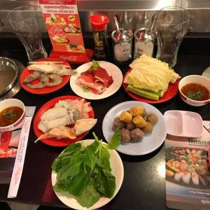 Shabu Shabu & Sushi Buffet