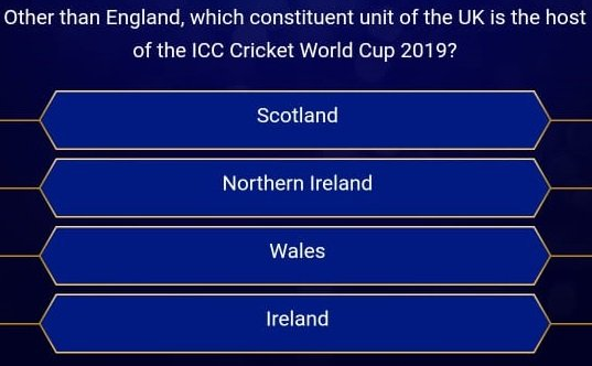 2nd question KBC Registration 2019