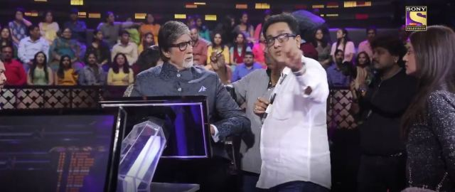 KBC Set with Director