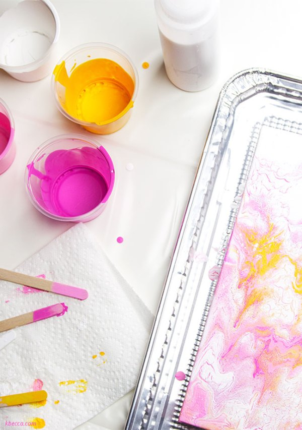 Acrylic Pour Painting for Beginners, Step by Step Tutorial ...