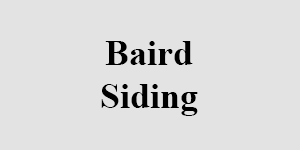 Baird Siding