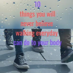 walking exercise health benefit