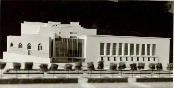 Maquette du bâtiment