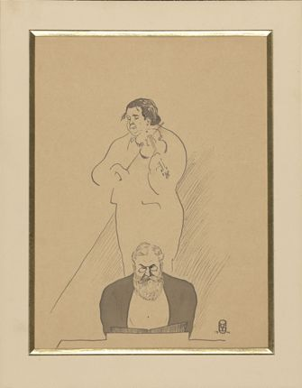 Ysaÿe et Raoul Pugno, 1910 (Mus. Obj. 499)
