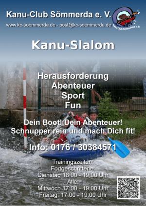 Plakat-Kanu-Slalom