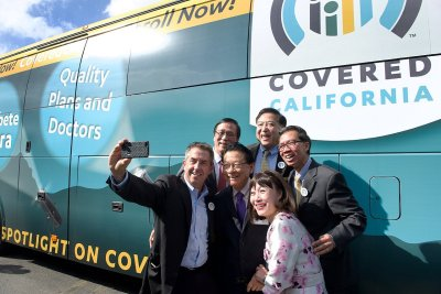 Covered CA Visits KCAL Insurance