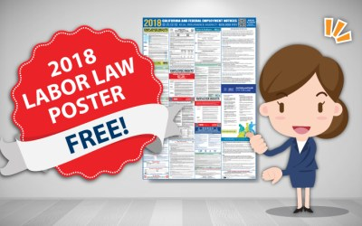 Free 2018 Labor Law Poster! Get Yours Today