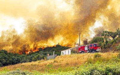 加州山火,豪宅私人救火队惹争议! 公平吗?