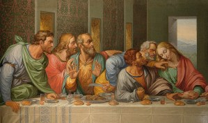 Giacomo Raffaelli's 10,000 mosaic tile copy of Leonardo Da Vinci's Last Supper