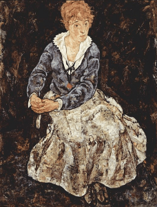 Edith Harms by Egon Schiele