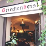 A look into the Griechenbeisl from outside