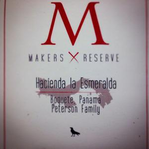 Corvus Coffee Roasters Maker's Reserve – Hacienda la Esmerelda