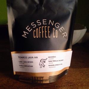 Messenger Coffee Co. Toarco Jaya AA (Sulawesi, Indonesia)