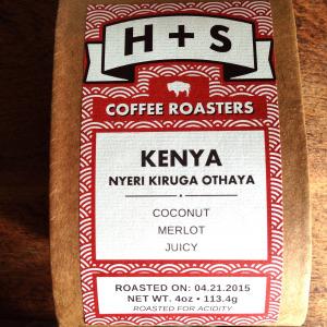 H+S Coffee Roasters Kenya Nyeri Kiruga Othaya