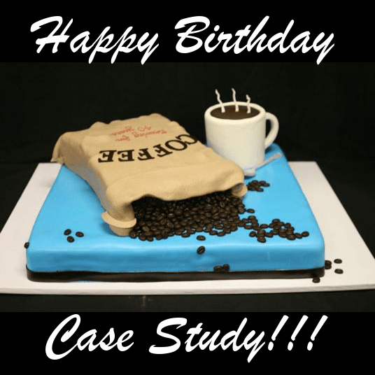 Happy Birthday, Case Study Coffee Roasters!!!