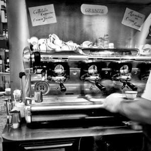 Italian Espresso Machine BW