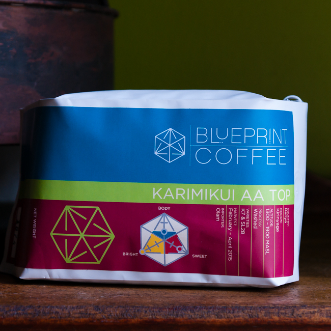 Blueprint Coffee Karimikui AA Top