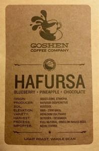 Goshen Coffee Hafursa