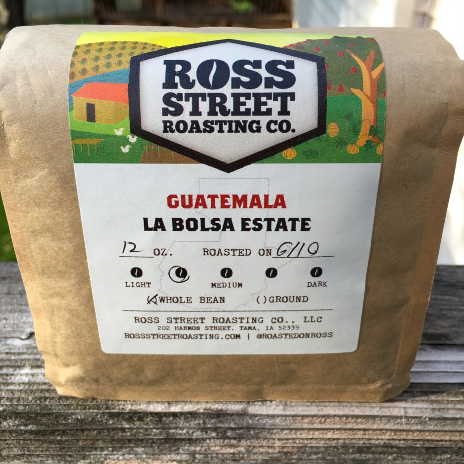 Ross Street Roasting Guatemala La Bolsa Estate