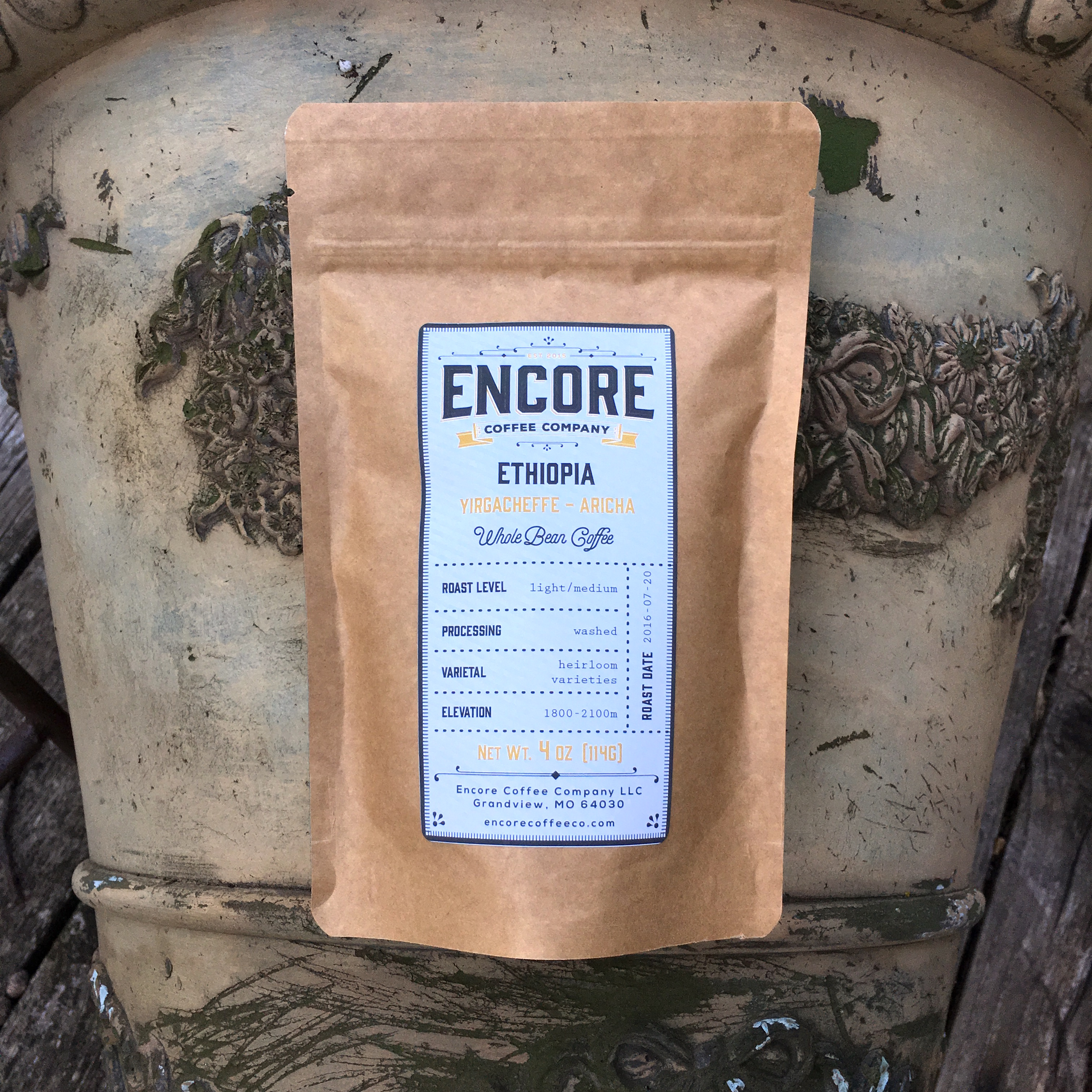 Encore Coffee Co. Yirgacheffe Aricha
