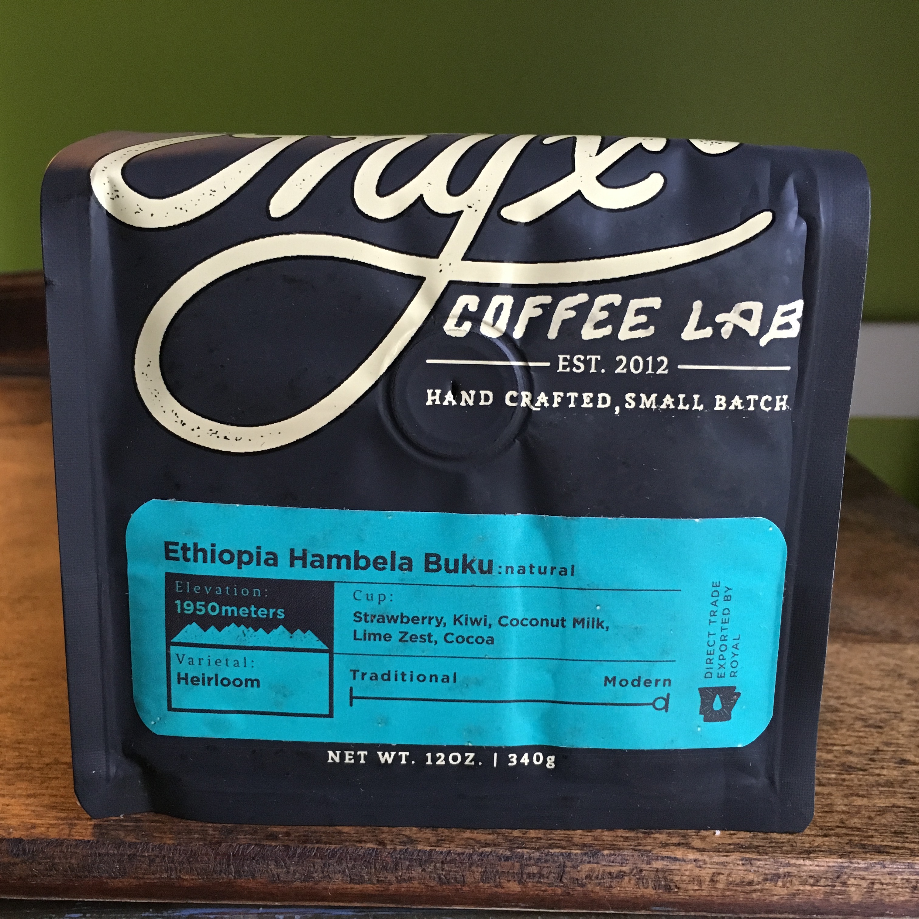 Onyx Coffee Lab Ethiopia Hambela Buku Natural
