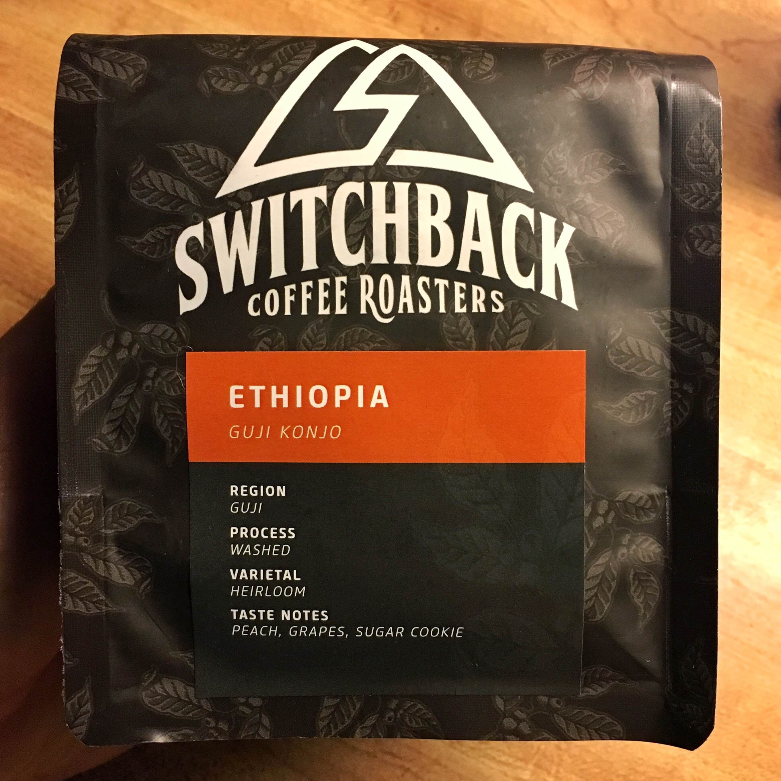 Switchback Coffee Roasters Ethiopia Guji Konjo