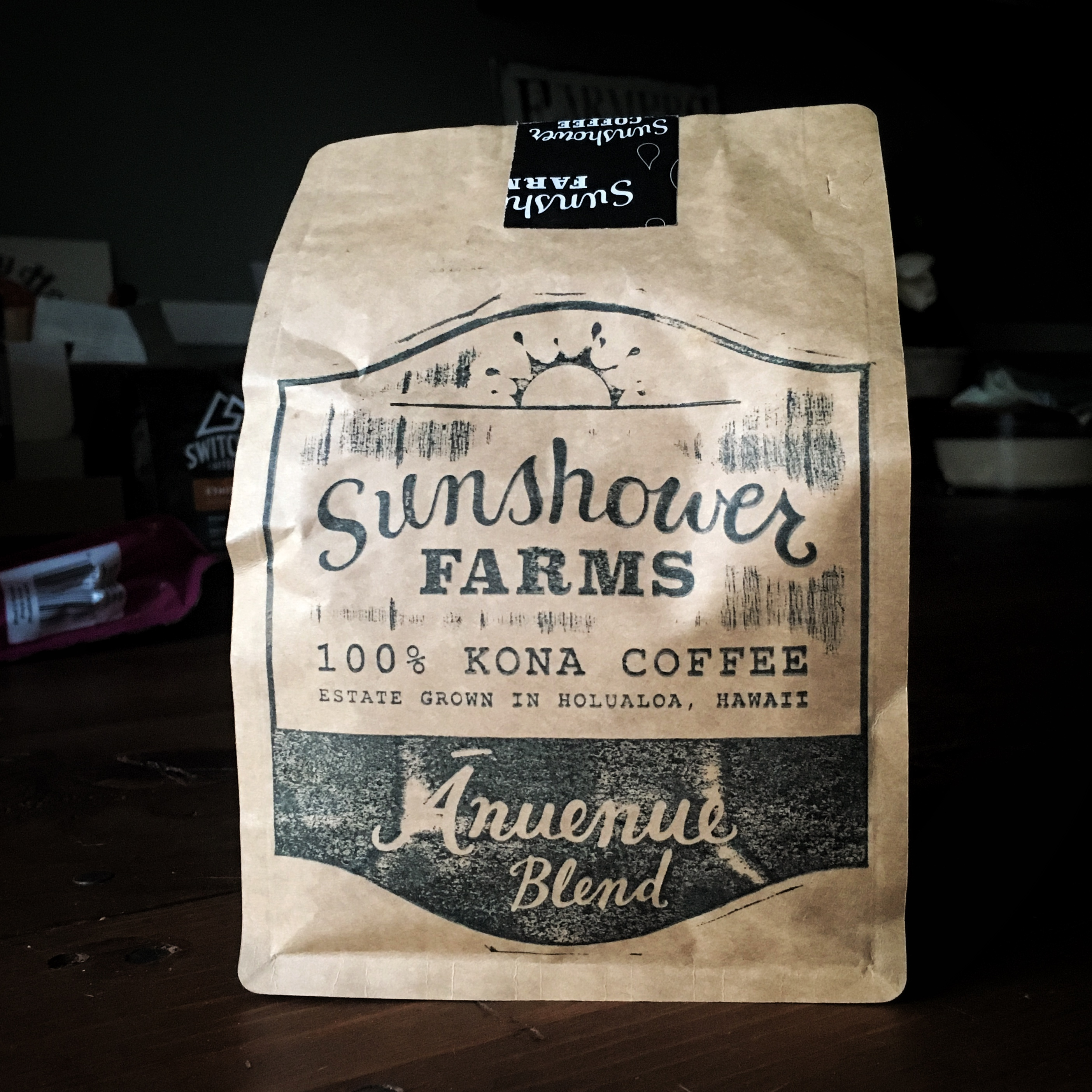Sunshower Farms Anuenue Blend – 100% Kona