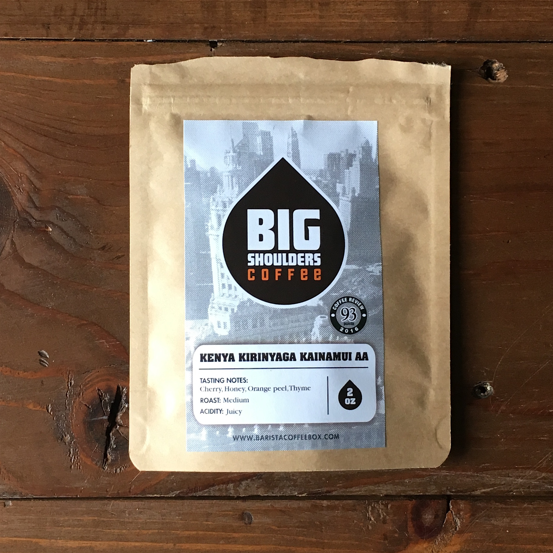 Big Shoulders Coffee Kenya Kirinyaga Kainamui AA