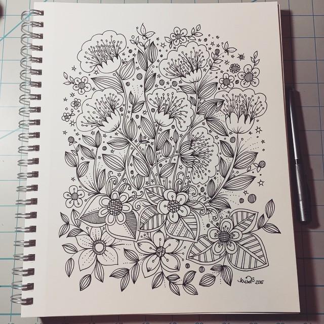Doodle Art Journal Entry