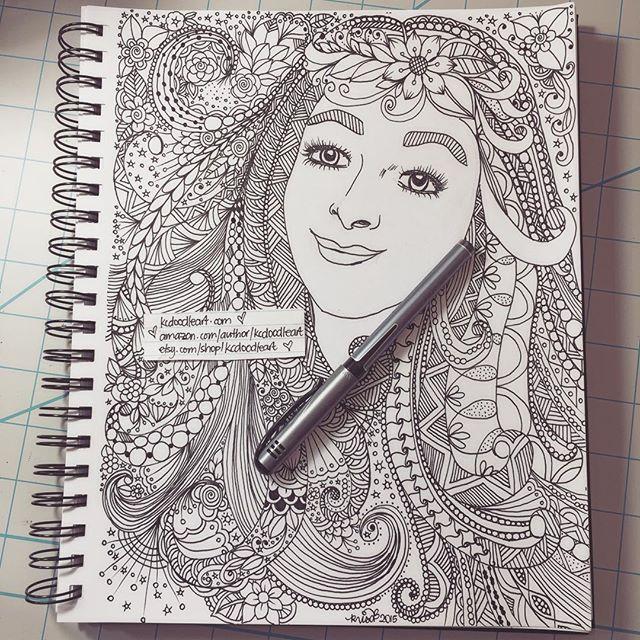 Kc doodle art for Doodle art faces
