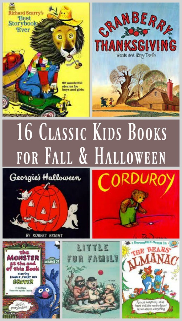 16 Classic Children's Books for Fall - Edventures with ...