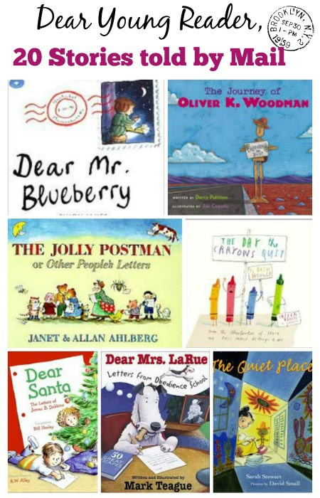 20 Picture Books about Mail & Getting Letters - Edventures ...
